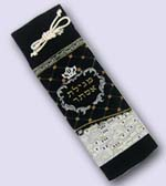 Velvet Megillah Case Blue Design